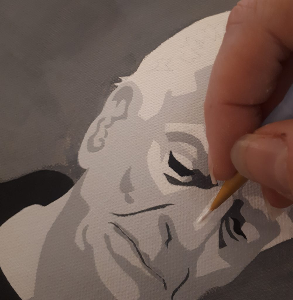 how to commission a portrait from a professional artist. Read about the process, the costs and the time span involved.